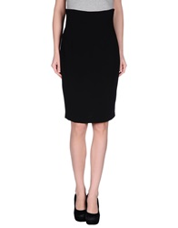 Gaetano Navarra Knee Length Skirts Black