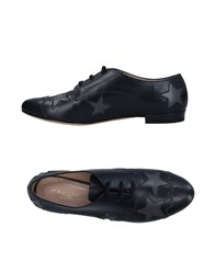 Cavallini Lace Up Shoes Dark Blue