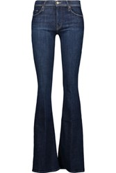 Mother The Cruiser Mid Rise Flared Jeans Blue