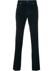 Z Zegna Classic Chino Trousers Blue