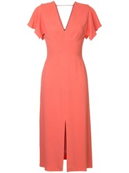 Ginger And Smart Drift Fitted Dress Pink