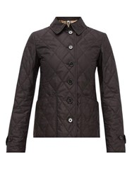 Burberry Diamond Quilted Shell Jacket Black