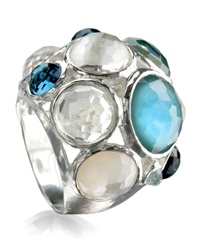 Ippolita Wonderland Crystal Party Ring Multi