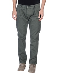 Minimal Casual Pants Military Green
