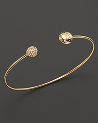 Kc Designs Diamond Double Circle Bangle In 14K Yellow Gold White Gold