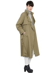 Isabel Marant Oversized Nylon Trench Coat