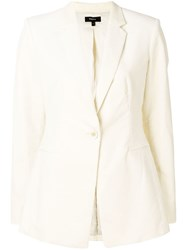 Theory Classic Corduroy Blazer Nude And Neutrals