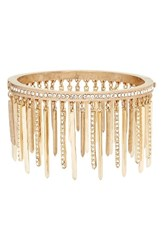 Jenny Packham Women's Stardust Crystal Fringe Bangle