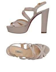 Couture Sandals Beige