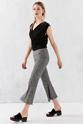 Silence And Noise Silence Noise Camille Crop Flare Pant Grey Multi