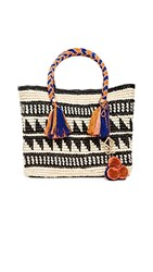 Yosuzi Kali Medium Tote Natural Multi