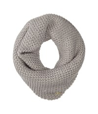 Cole Haan Xtra Chunky Neckwarmer Light Grey Scarves Gray