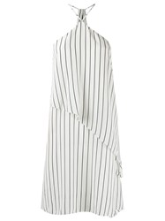 Andrea Marques Striped Tunic Black