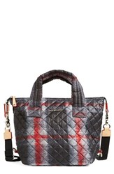 M Z Wallace Mz Wallace 'Small Sutton' Quilted Oxford Nylon Crossbody Bag Red