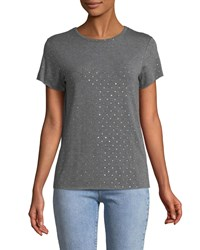 Bailey 44 Shirley Sequin Crewneck Tee Gray