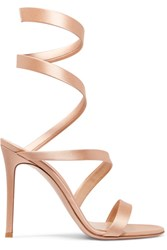 Gianvito Rossi Opera 100 Satin Sandals It37