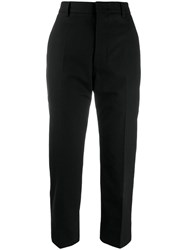 Sofie D'hoore Cropped Tapered Trousers Blue