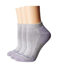 Carhartt Cotton Low Cut 3 Pack Heather Gray Women's Crew Cut Socks Shoes