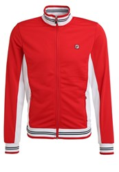Fila Ole Tracksuit Top Red White