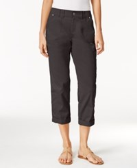 Styleandco. Style Co. Cropped Cargo Pants Only At Macy's Slate Grey