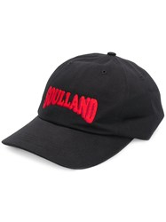 Soulland Logo Patch Cap Black