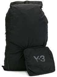 Y 3 Detachable Pouch Backpack Black