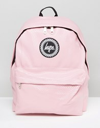 Hype Pink Cubist Backpack Pink Cubist