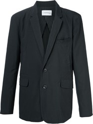 Song For The Mute Two Button Blazer Black