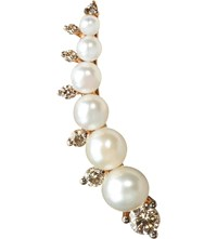 Annoushka Diamonds And Pearls 18Ct Rose Gold Right Ear Pin