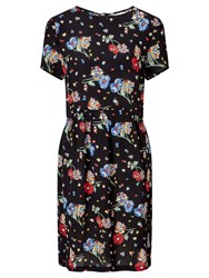 John Lewis Collection Weekend By Riverboat Floral Dress Black Multi