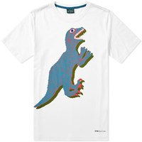 Paul Smith Dinosaur Tee White
