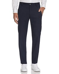 Hickey By Hickey Freeman Tweed Slim Fit Trousers Navy
