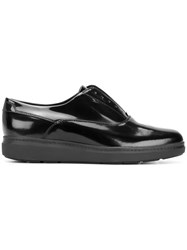 Geox Laceless Oxford Shoes Black