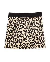 Milly Minis Cheetah Print Mini Skirt