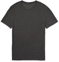 Alexander Wang T By Slub Jersey T Shirt Gray
