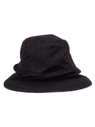 Ca4la Banded Hat Black