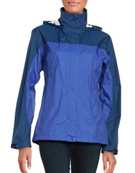 Marmot Precip Waterproof Long Sleeve Jacket Blue