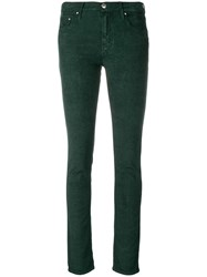 Jacob Cohen Low Skinny Jeans Green