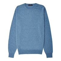 Jaeger Cashmere Crew Jumper Chambray