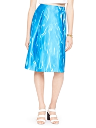 Kate Spade Madison Ave. Collection Lorella Skirt Watercolor