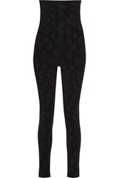 Issa Ronnie Intarsia Knit Skinny Pants Black
