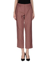...A_La_Fois... Trousers Casual Trousers Women Brick Red