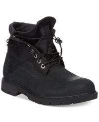Timberland Icon Basic Roll Top Boots Men's Shoes Black Nubuck