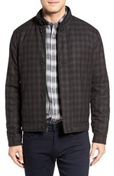 Bugatchi Men's Ombre Check Jacket