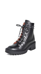 Kenzo Pike Lace Up Boots Black