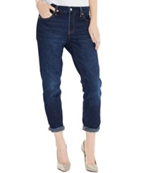 Levi's 501 Ct Customized Tapered Boyfriend Jeans Indigo Trail