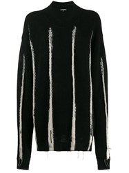 Ann Demeulemeester Oversized Striped Jumper 60