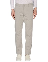 Paolo Pecora Trousers Casual Trousers Men Light Grey