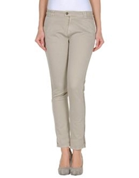 Soallure Casual Pants Light Grey