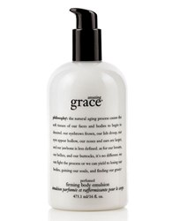 Philosophy Amazing Grace Perfumed Firming Body Emulsion 16 Oz. No Color